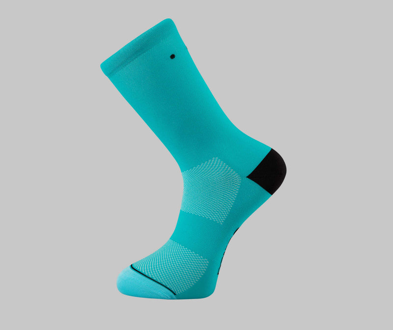 Steel Blue Cycling Socks