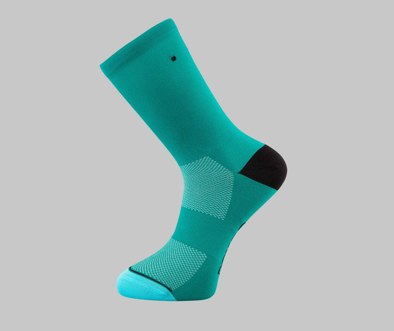 Teal Cycling Socks