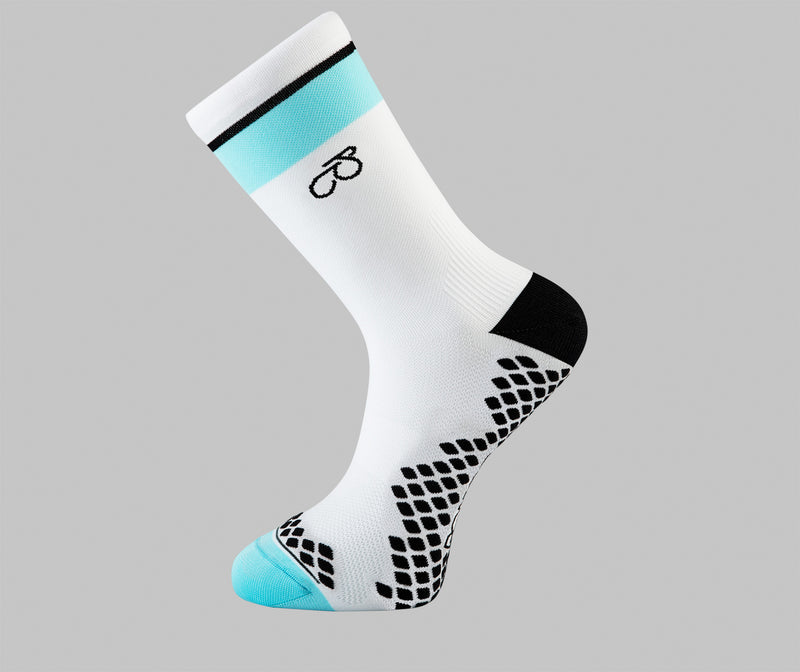 Cameron Jeffers cycling socks Pongo London cycling socks