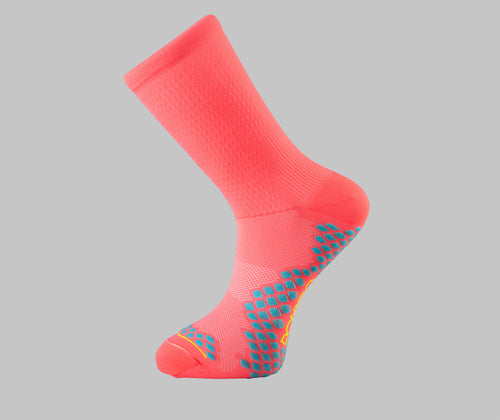 PRX 1.0 - Cycling Socks - Hi-Vis Pink
