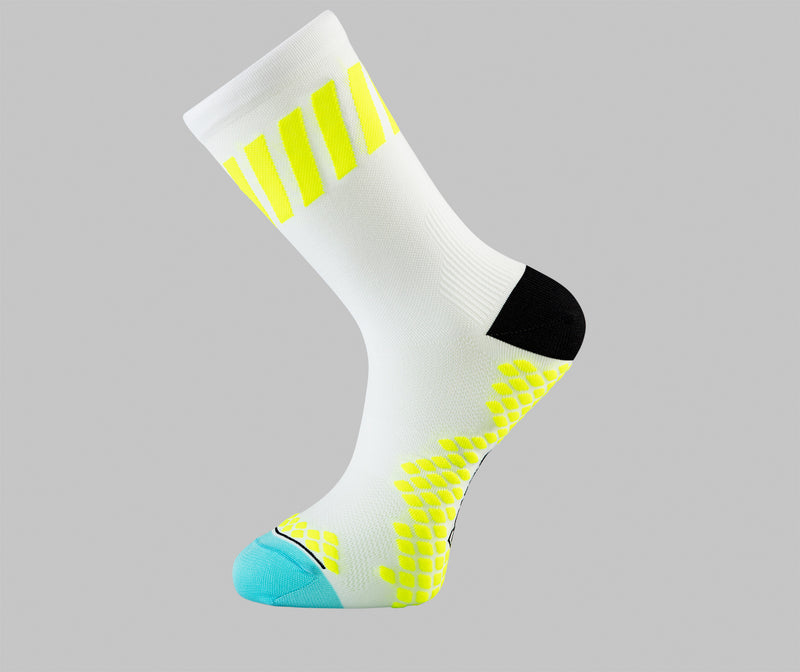 bright colourful cycling socks Pongo london cycling socks