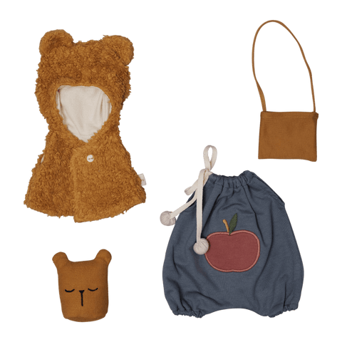 Fabelab Puppenkleidung Bear cape