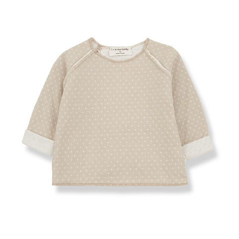 1+ in the family Sweater Emmanuel beige