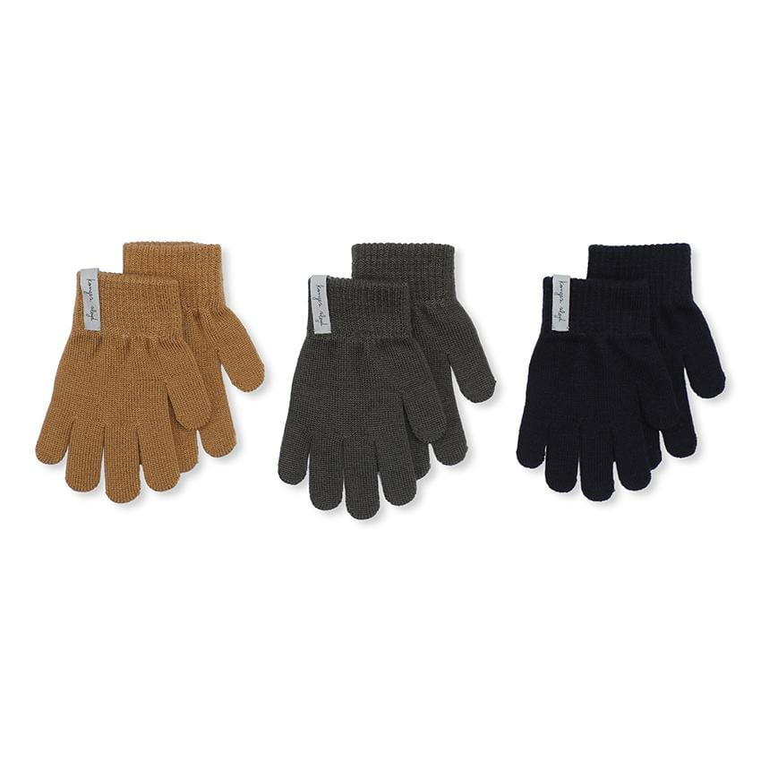 Konges Slojd 3er-Set Handschuhe Shades of forest