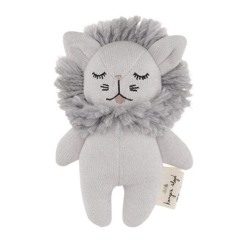 Konges Slojd Babyrassel Mini Lion grey melange