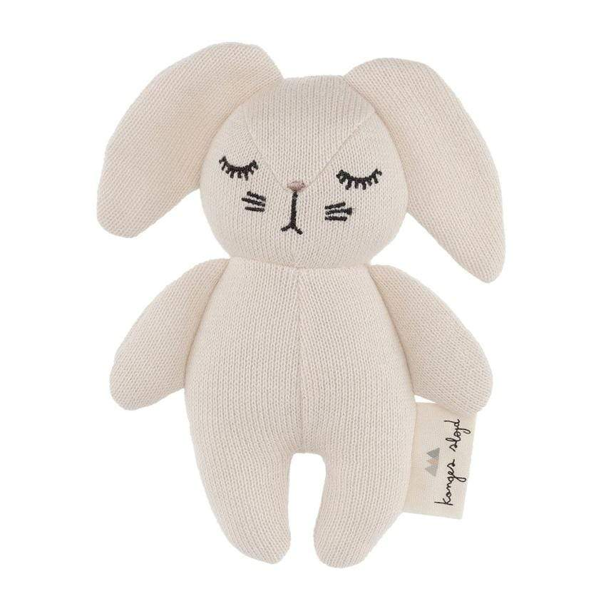 Konges Slojd Babyrassel Mini Rabbit off white