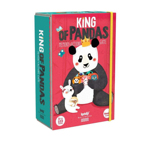 Londji Memory-Spiel King of Pandas