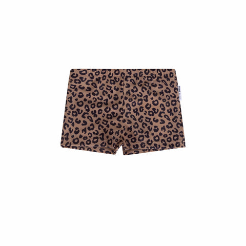 Maed for Mini Badehose Brown Leopard