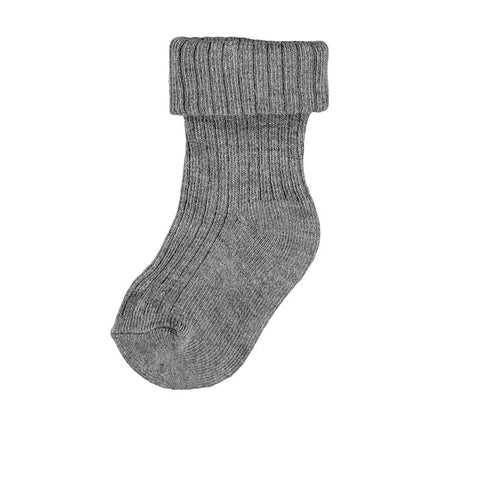 Name it Baby-Socken NBMNONAS dark grey melange