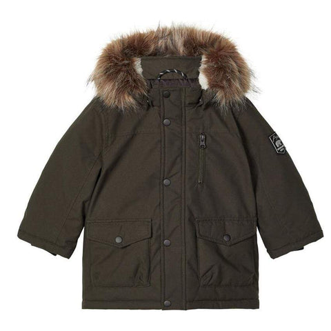 Name it Jacke Parka NMMMIBIS rosin