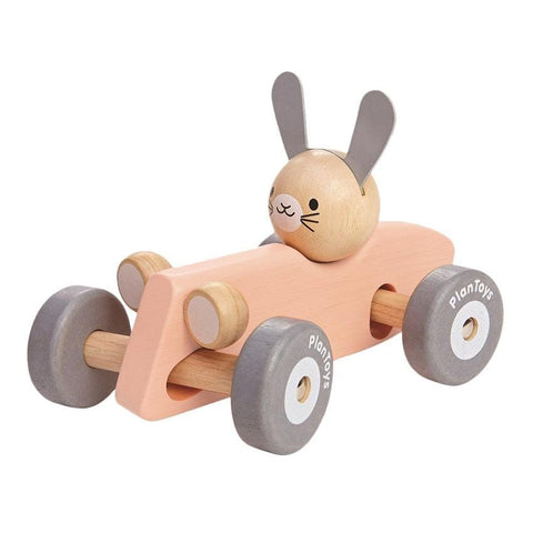 Plantoys Racing Car Bunny