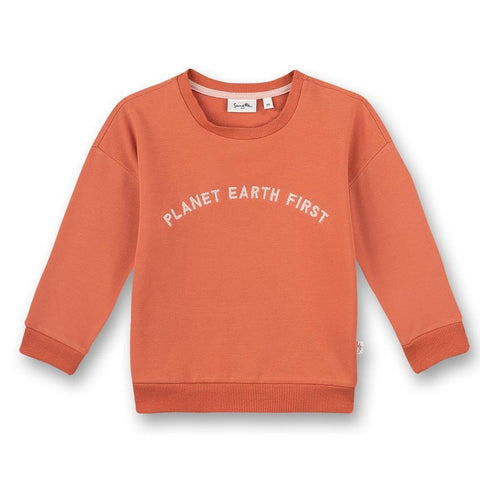 Sanetta pure Pullover Planet earth first rot