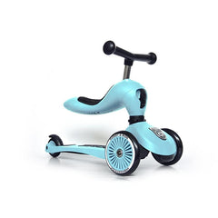 Scoot & Ride Laufrad-Scooter Highwaykick 1 blueberry