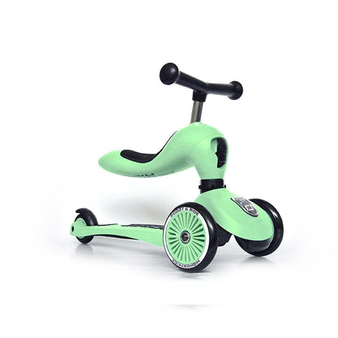 Scoot & Ride Laufrad-Scooter Highwaykick 1 kiwi