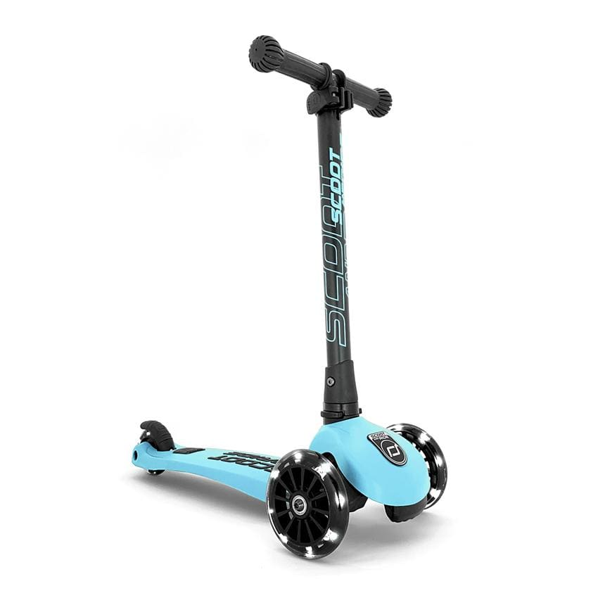 Scoot and Ride Scooter Highwaykick 3 LED blueberry