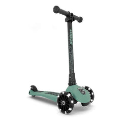 Scoot & Ride Scooter Highwaykick 3 LED forest