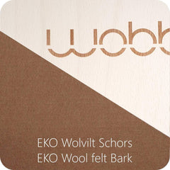 Wobbel Original linen-whitewash MIT Filz