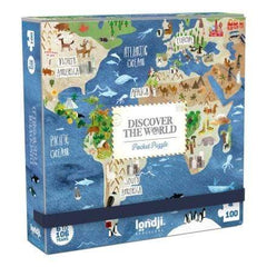 Londji Pocket-Puzzle Discover the world