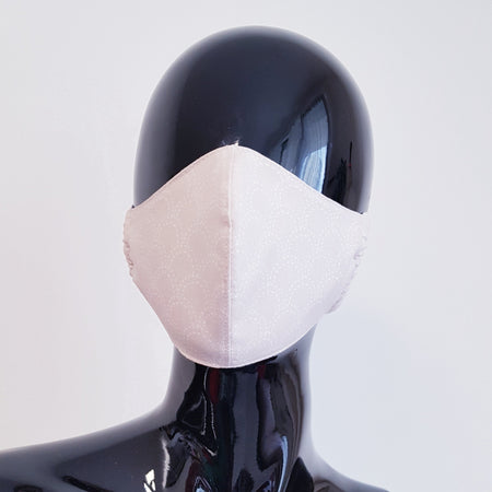 TEXTILE FACE MASK - BLACK