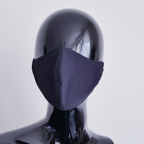 textile face mask - clothes face mask - black - man - men