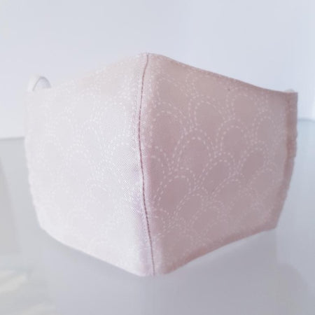 TEXTILE FACE MASK - PEACH
