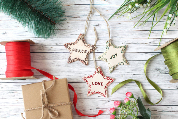 Christmas ornaments Star ornaments Christmas tree ornaments Holidays decor Wall hanging Christmas tree decorations