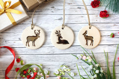 Deer ornaments