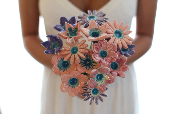 Bridal bouquet, Wedding bouquet Wedding decoration Shabby chic wedding