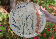 botanical plate collection