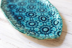 Small Ceramic platter Housewarming gift Holiday gift - Ceramics By Orly  - 3