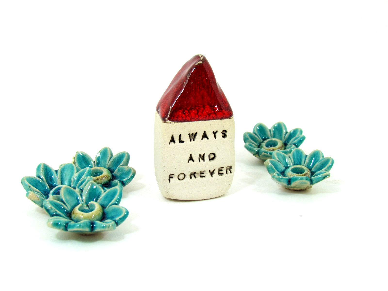 Always ans forever miniature house - Ceramics By Orly  - 1