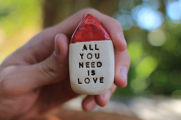 All you need is love Personalized gift Anniversary gift Valentine's day gift