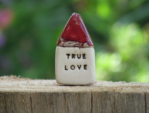 True love miniature house - Ceramics By Orly  - 1