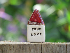 True love miniature house - Ceramics By Orly  - 2