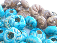 Colorful ceramic beads - Ceramics By Orly  - 8