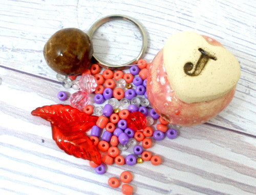 DIY Personalized beaded doll kit - Ceramics By Orly  - 1