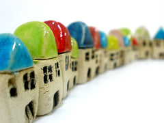 A set of 3 miniature houses - Ceramics By Orly  - 3