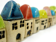 Miniature houses - Ceramics By Orly  - 2