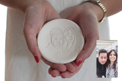 portrait ring dish