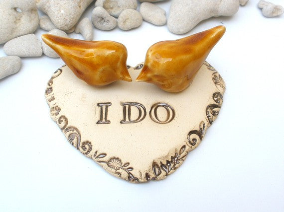 I do Wedding cake topper - Ceramics By Orly  - 1