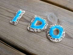 I DO letters Ceramic designed letters for your big day in a color of your choice Wedings letters - Ceramics By Orly  - 2
