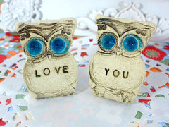 Love you owls - Ceramics By Orly  - 3