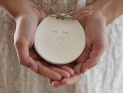 Wedding ring dish