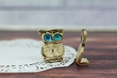 I DO owls cake topper for weddings - Ceramics By Orly  - 2