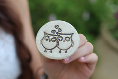 Owls ring - Ceramics By Orly  - 1