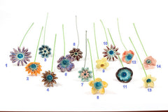 Housewarming gift Ceramic flowers - Ceramics By Orly  - 5