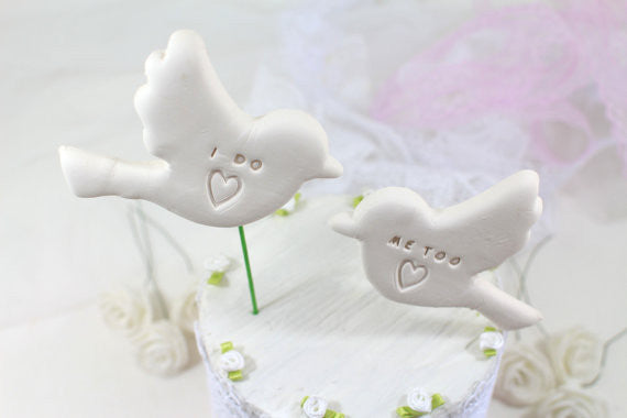 i do me bird wedding cake topper birds wedding cake