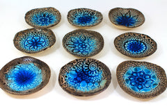 Ceramic bowls (3 bowls) Hostess gift Home decoration Housewarming gift - Ceramics By Orly  - 3