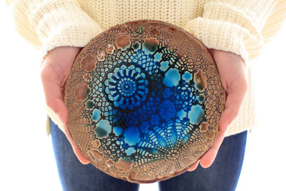 Hostess gift OOAK Ceramic bowl, Housewarming gift - Ceramics By Orly  - 1