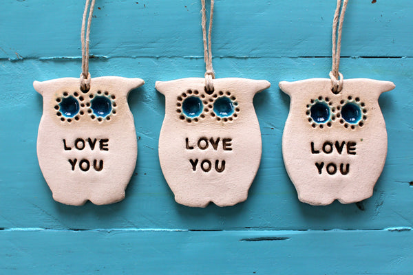 Love you Owl ornament